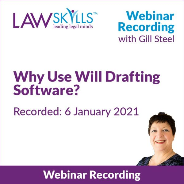 Why Use Will Drafting Software Webinar