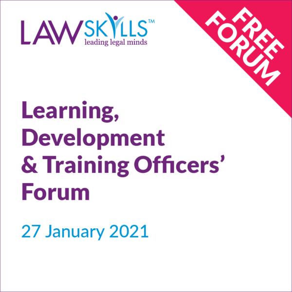 Learning Development & Training Officers' Forum