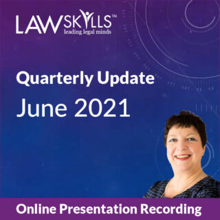June 2021 LawSkills Quarterly Update